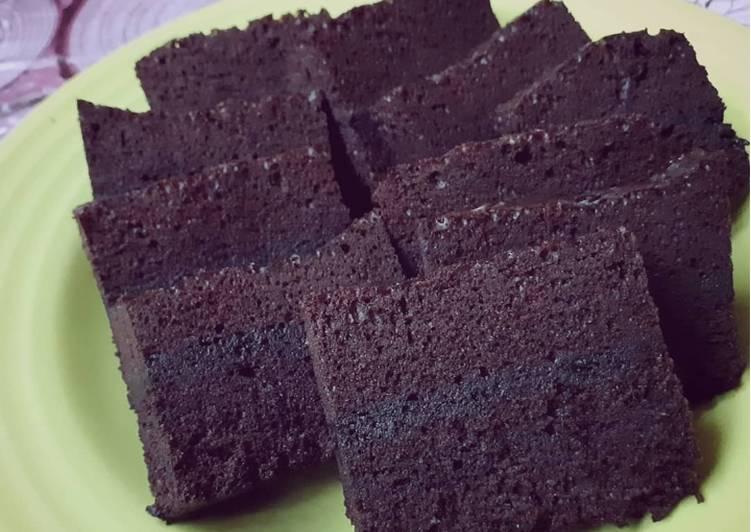 Brownies kukus Amanda, eh Adinda (3telur) 😁