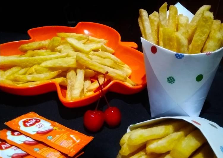 Kentang Goreng Renyah ala KFC