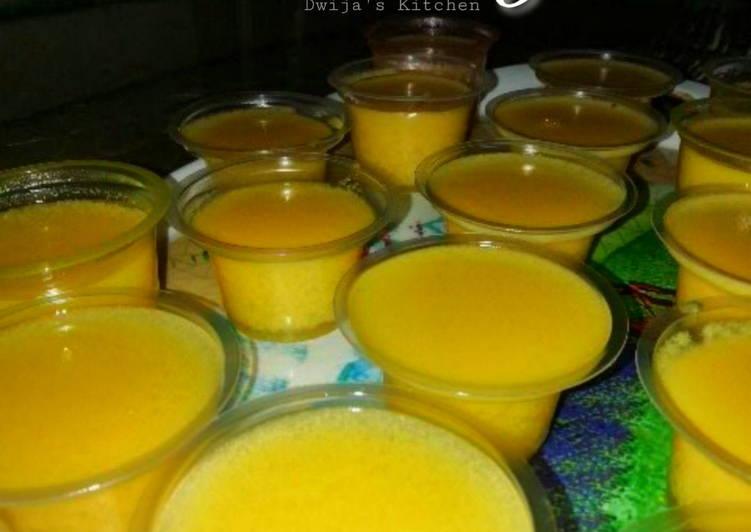 Pudding Jagung Lembut 🌽🌽 (GA3_Week 10)