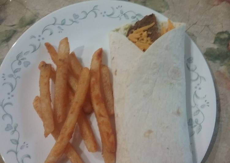 How to Prepare Quick ☆☆☆☆☆ Burito Burger