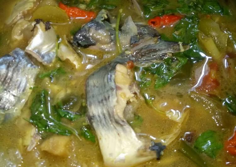 Pindang ikan patin kemangi (pedes, asem, manis, segeeer)