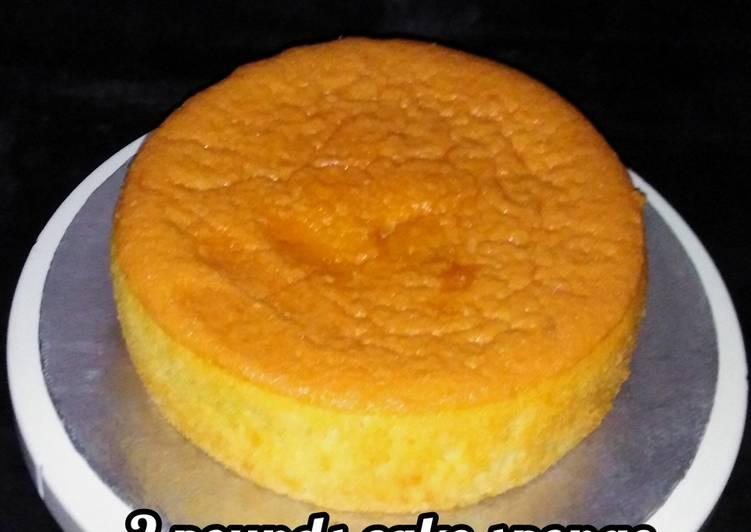 How to Prepare Speedy 2 pounds sponge cake