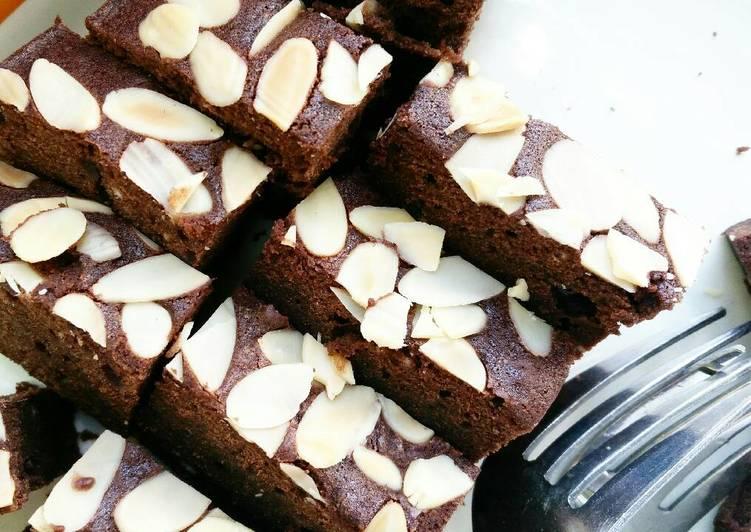 Cara Membuat Resep Sempurna Dari Choco Almond Brownies