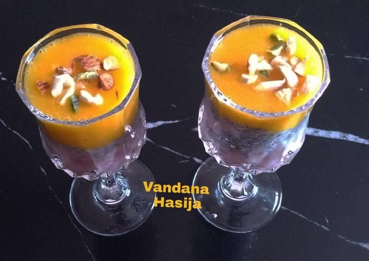 Jamun Mango Smoothie