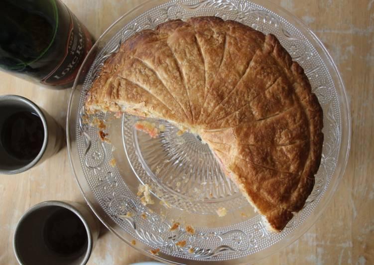 recette Galette aux pralines roses Le plus simple