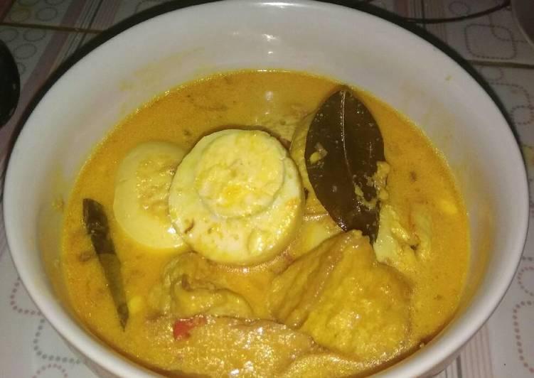 Resep Opor Telur Tahu Oleh Dhyan Cookpad