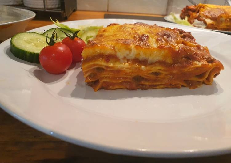 Authentic lasagne recipe