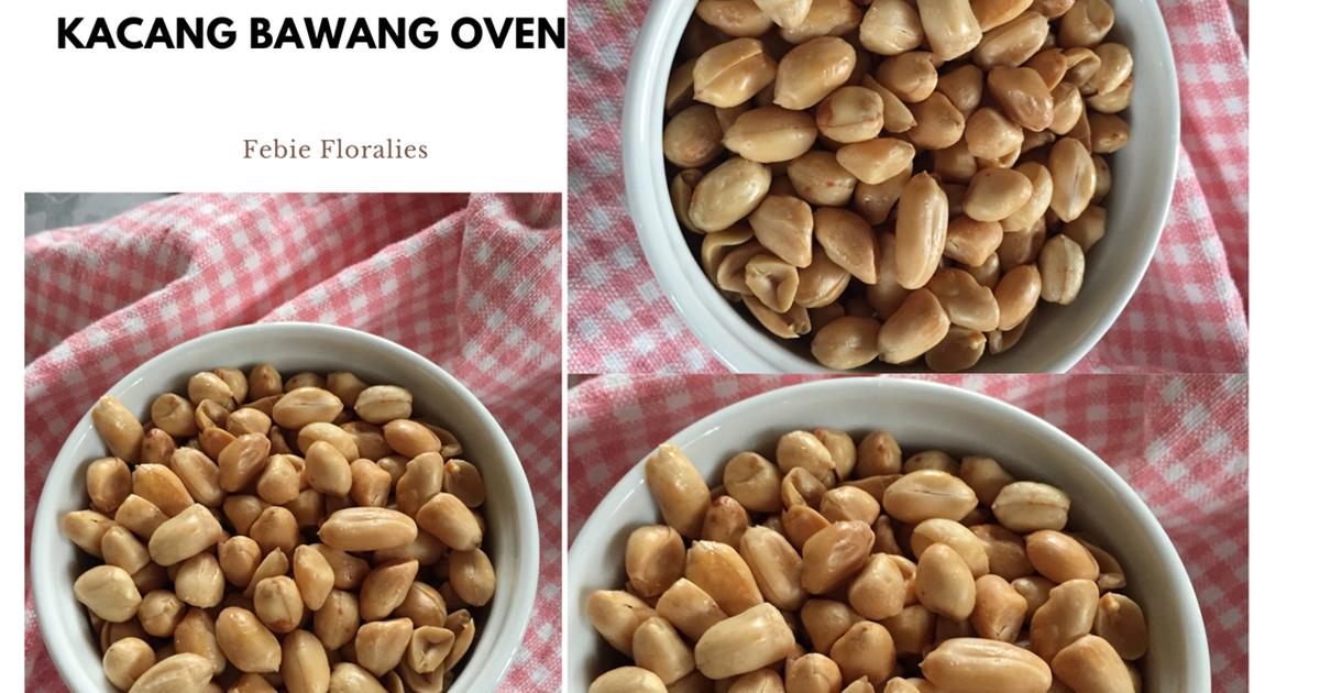 6 426 Resep Kacang Panggang Gurih Enak Dan Sederhana Ala Rumahan Cookpad