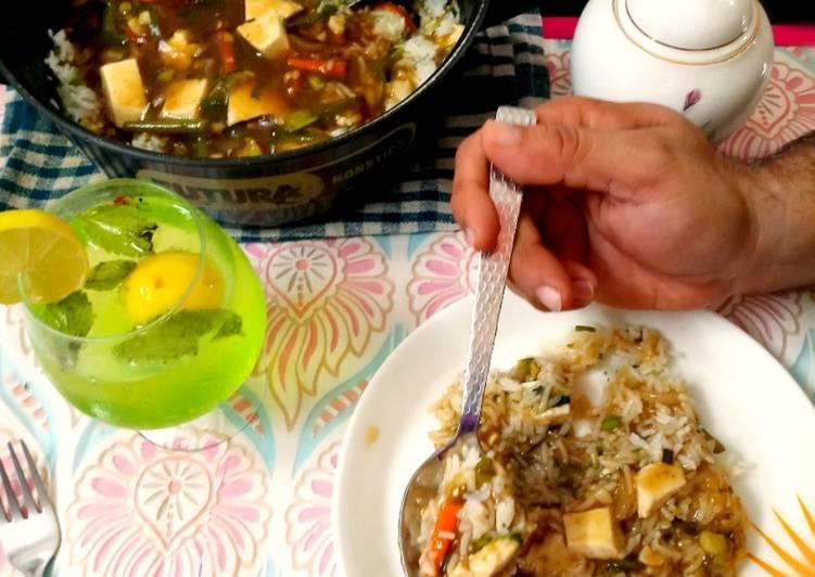 Paneer pot rice