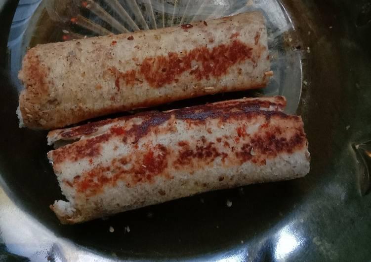 Resep Garlic Roll Wheat Bread Top
