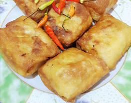 Martabak telur_sayur (dan tips adonan kulit martabak/lumpia)