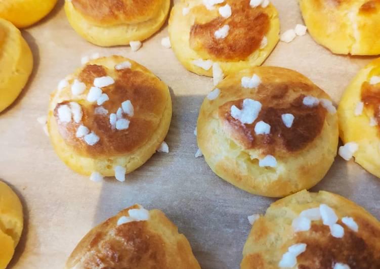 Comment Préparer Des Chouquettes au sucre perlé