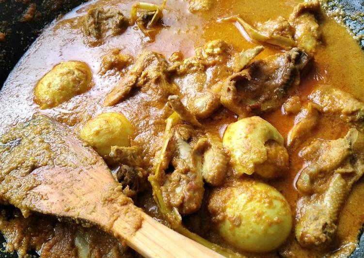 Kari Ayam India - cookandrecipe.com