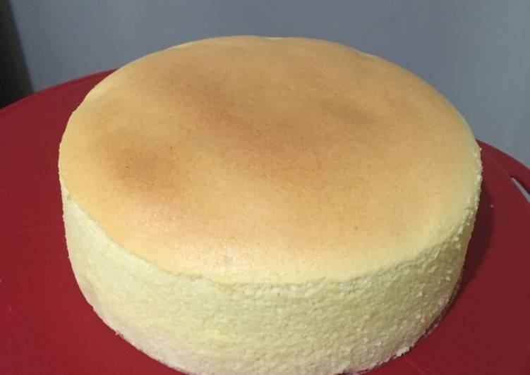 Basic Japanese Cheese Cake (JCC)
