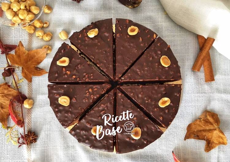 Ricetta Torta al cioccolato, miele e nocciole
