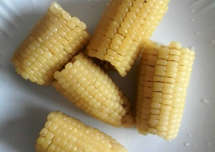 Recipe of Super Quick Homemade Boiled Maize/Corn