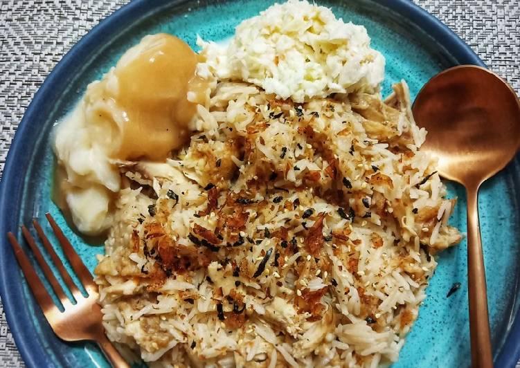 Nasi Ayam KFC (Japanese Style) - velavinkabakery.com