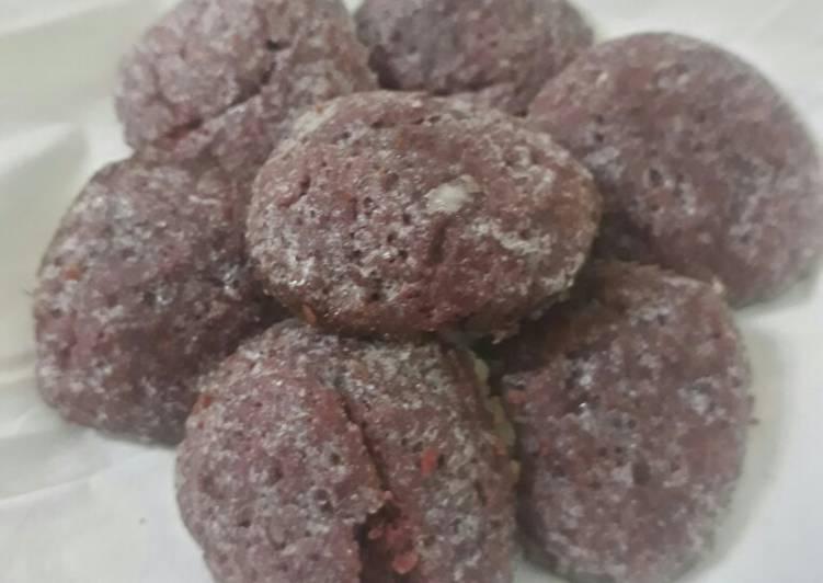 58.Red Velvet crincle cookies ekonomis