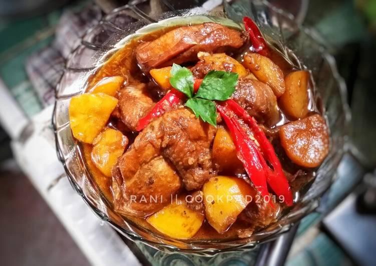 Ayam Kuah Kecap (oriental)