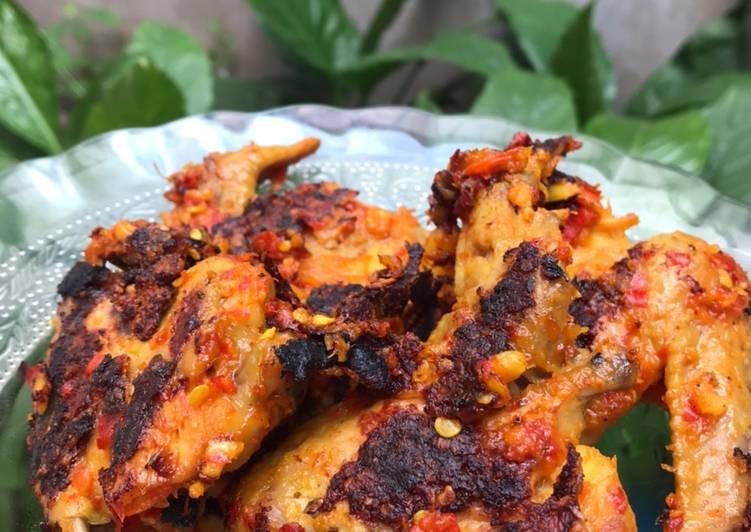 Ayam Bakar Bumbu Rujak #dietminyak #menukeluarga