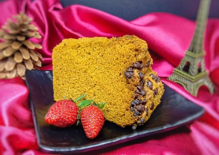 Coffee Mocca Chiffon Cake