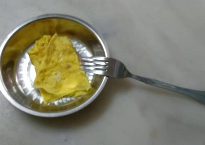 Homemade omelette