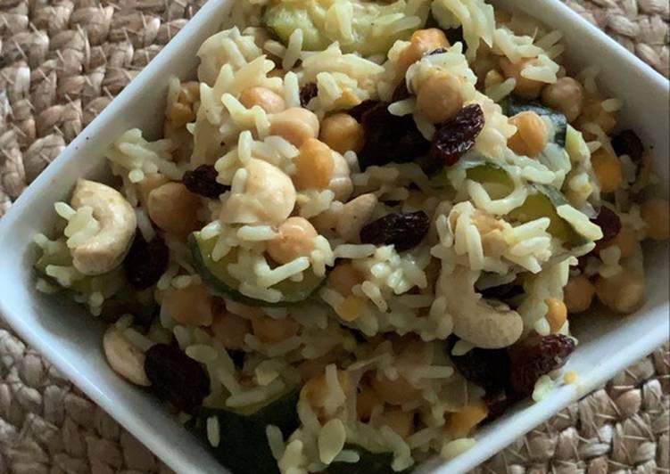 Comment Faire Des Riz au pois chiche et raisin sec au Cookeo