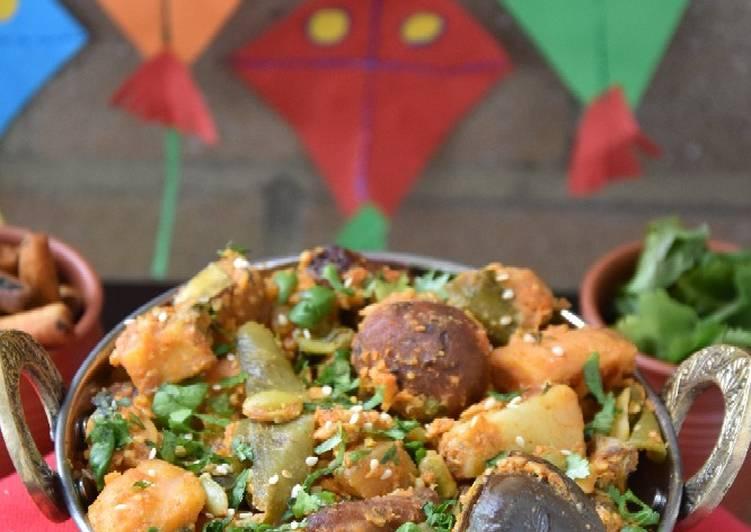 How to Make Simple Gujarati cuisine Undhiyu