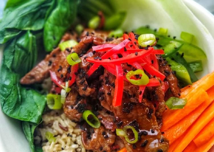 Step-by-Step Guide to Make Speedy Teriyaki Beef Donburi