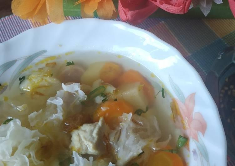 Sop Sayuran Jamur