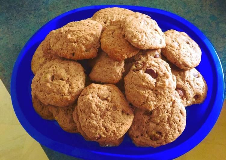 Recipe of Homemade Choc Chip Cookies