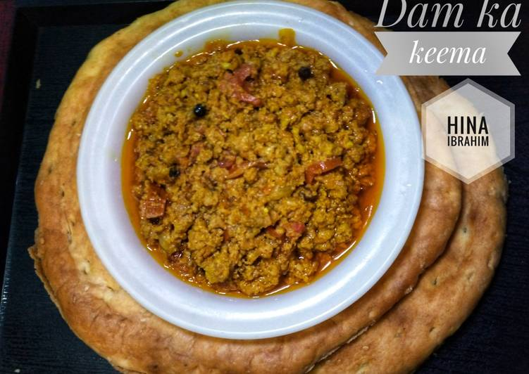 5 Minute Recipe of Refreshing Dam Ka keema