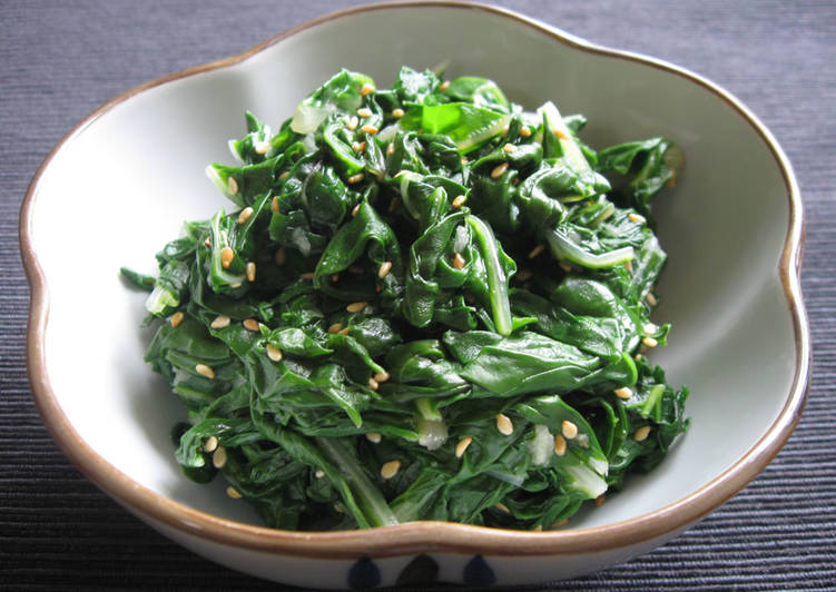 How to Make Homemade Silverbeet Leaves 'Namul'