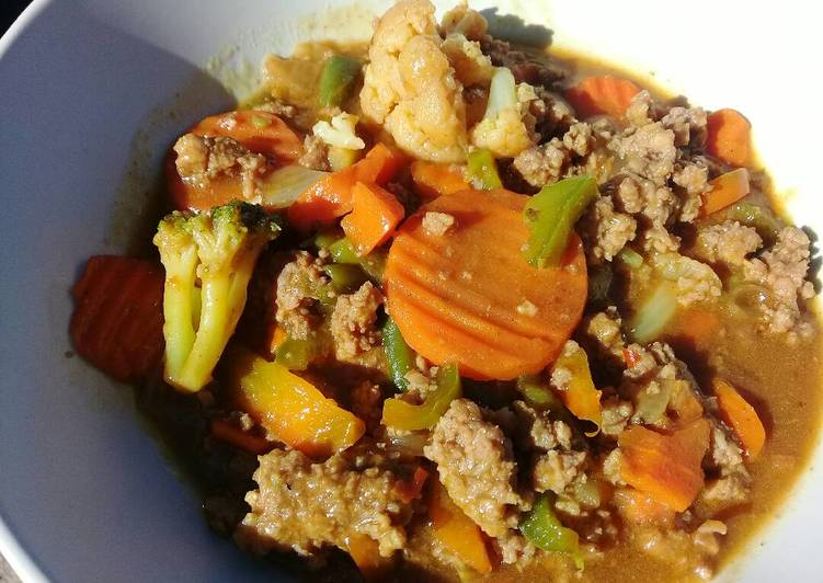 Recipe of Homemade Mince meat with pasta sauce