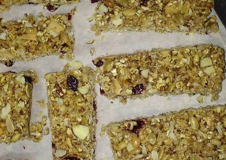 My Favorite Granola Bars