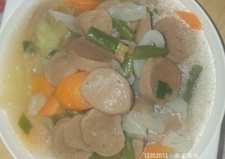 Capcay sayur sup #73²