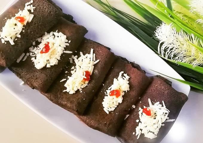 Resep Dadar Gulung Coklat Fiber creme Isi Pisang, Bikin…