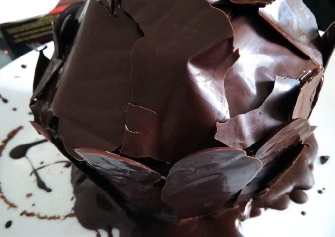 Bagaimana Menyiapkan Bolu kukus coklat sederhana , Bikin Ngiler