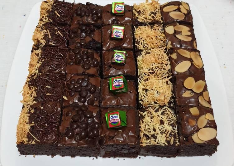Brownies Panggang Shiny dan Melting