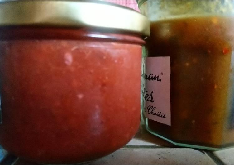 Sauce Tkemali (Géorgie 🇬🇪)