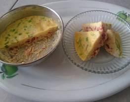 Telur Tim Corsa (Telur Tim Cornet Sapi)