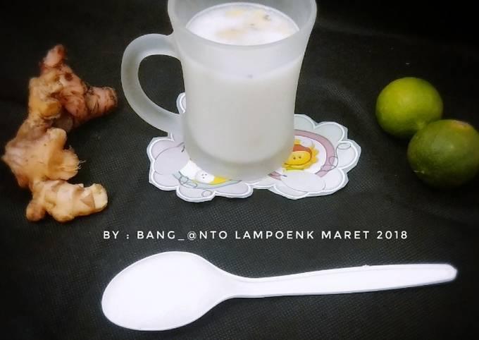 Resep Susu Jahe Pr Recookmintradisional Oleh Anto Cookpad