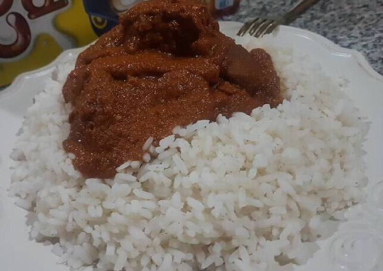 Recipe of Super Quick Homemade Ram stew and rice