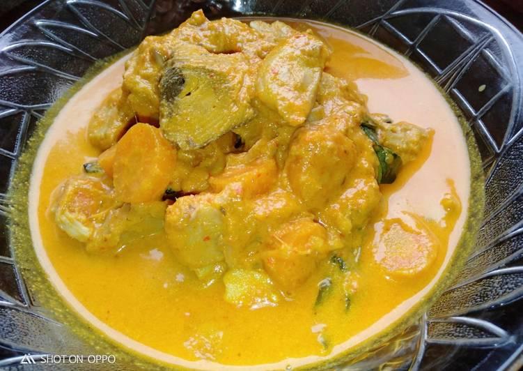 Gulai nangka + tongkol