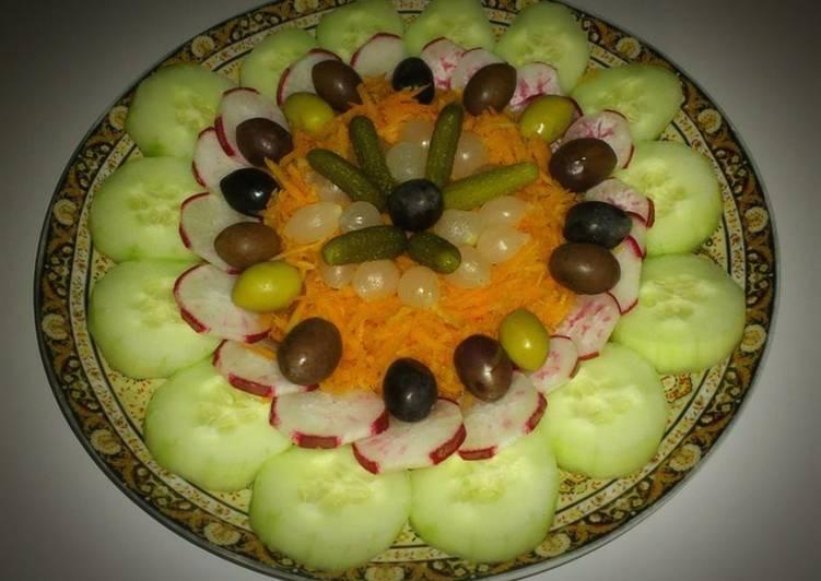 Méthode simple pour Faire Super rapide Fait maison Salade composée ❤