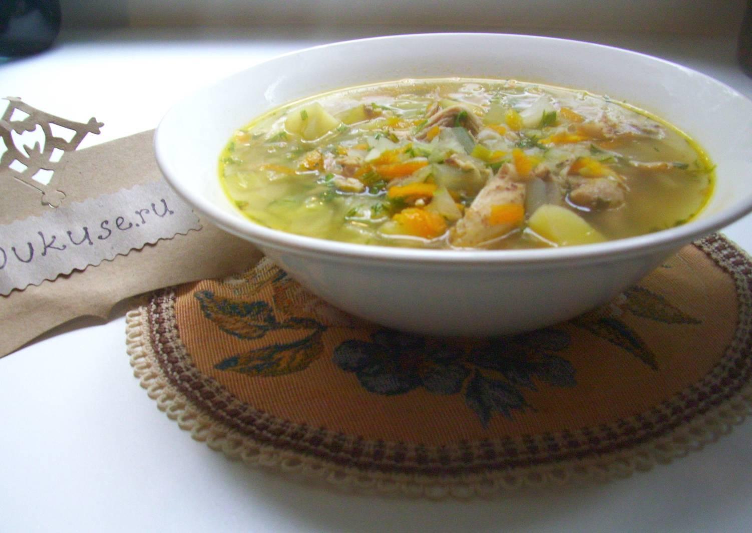 Суп из молодой капусты рецепт с фото