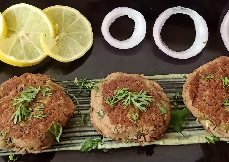 Soya Chunk Dunger kabab
