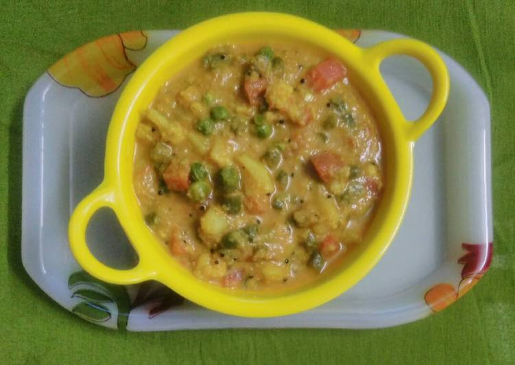 How to Make Quick Veg Goan curry