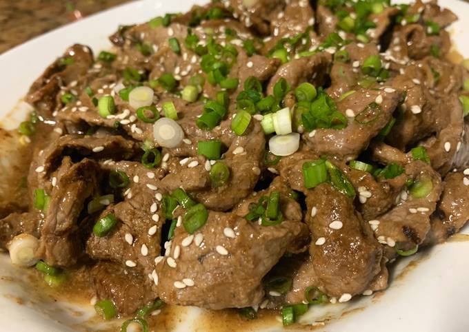 Korean BBQ (Bulgogi)