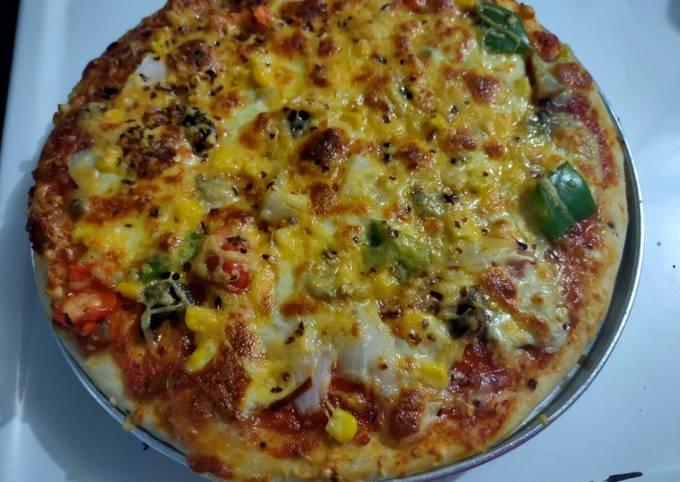 Restaurant style Pizza